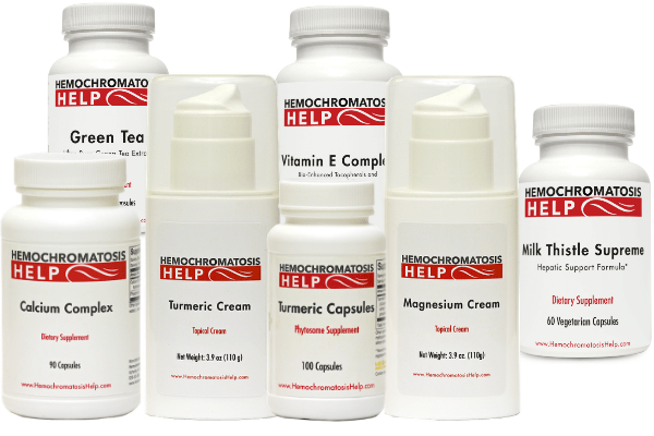 Hemochromatosis Help Supplements