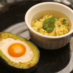Hemochromatosis Breakfast Recipe: Baked Egg in Avocado