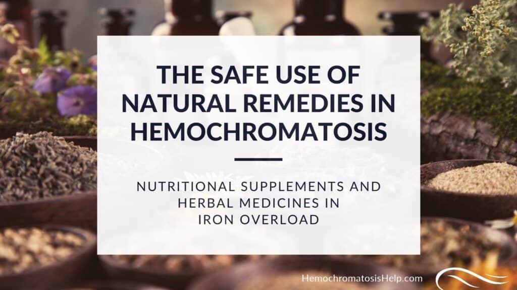 Hemochromatosis Supplements