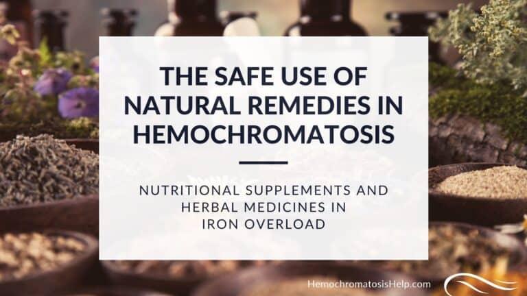 Hemochromatosis Supplements