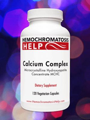 Hemochromatosis Help Calcium Complex