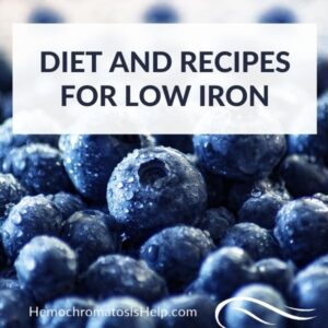 Diet and Recipes for Low Iron