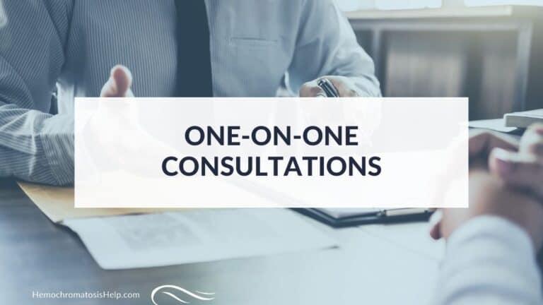 Hemochromatosis Help Consultations Featured Image