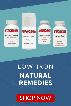 Low Iron Nutritional Supplements