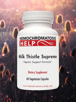 Hemochromatosis Help Milk Thistle Supreme