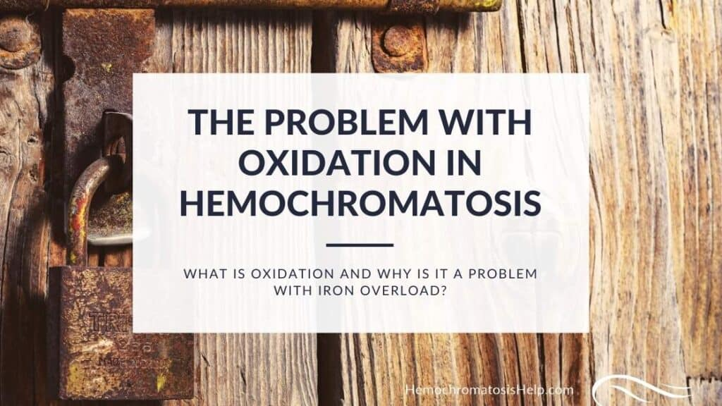 Oxidation in Hemochromatosis
