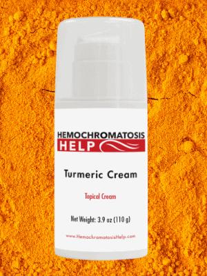 Hemochromatosis Help Turmeric Cream