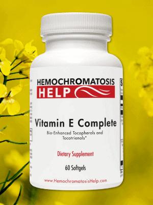 Hemochromatosis Help Vitamin E Complex