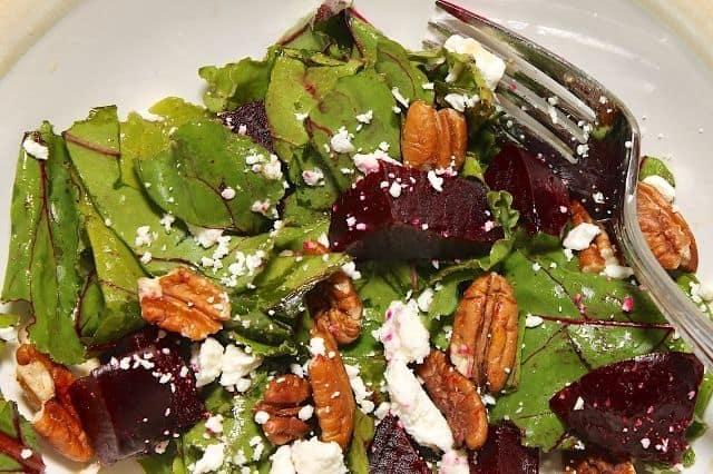 Apple Beet and Cheese Salad